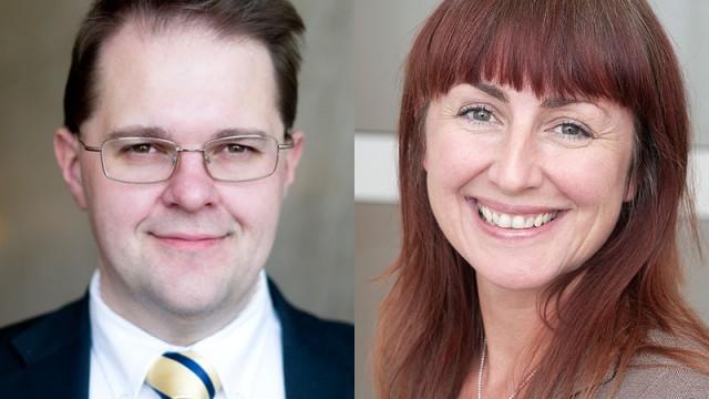 Susanne Sjödin Svensson och Daniel Eriksson, Folksam