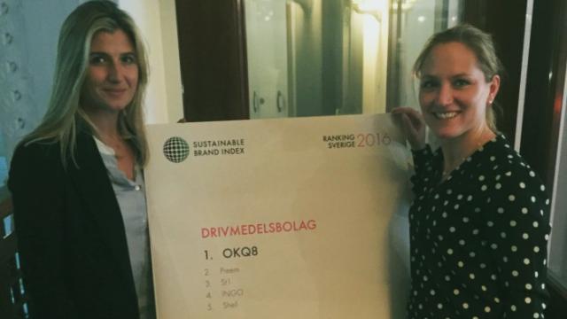 OKQ8 bäst på hållbarhet