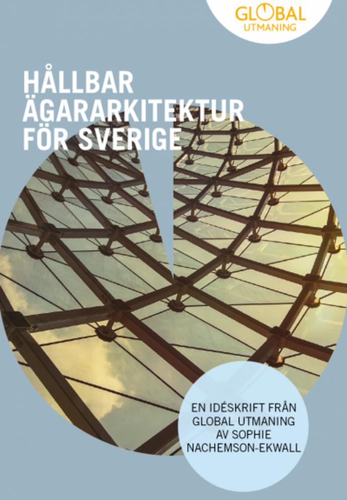 Rapporten Hållbar ägararkitektur för Sverige